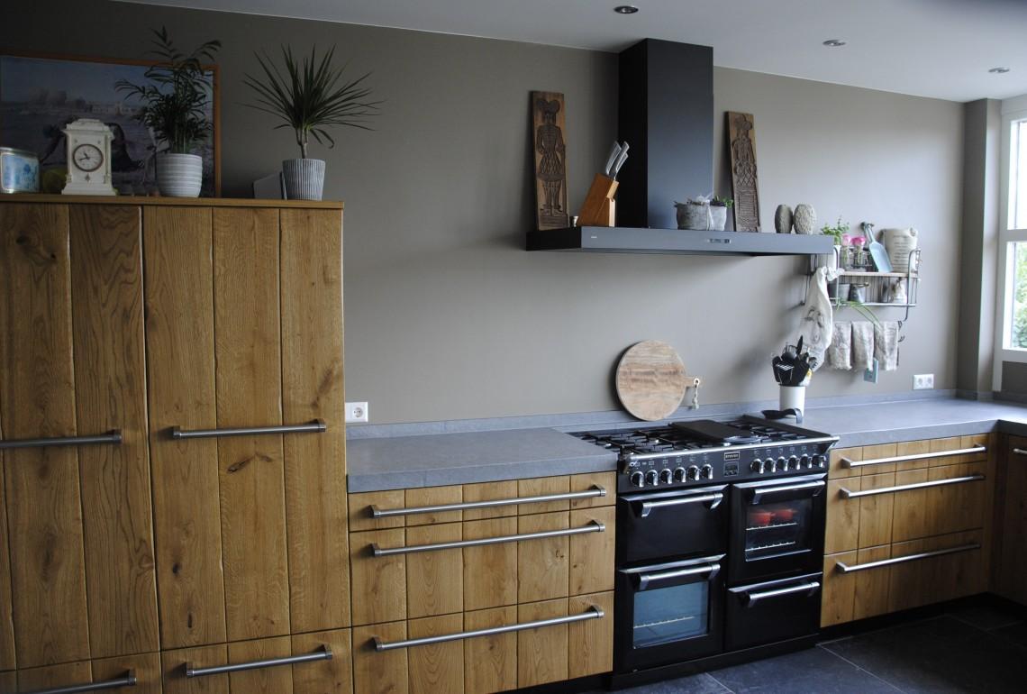 Houten keuken van Pure Dutch in Papendrecht
