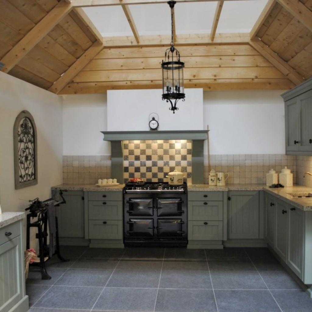 Landelijke keuken met terrazzo in alblasserdam   keukenhof sliedrecht