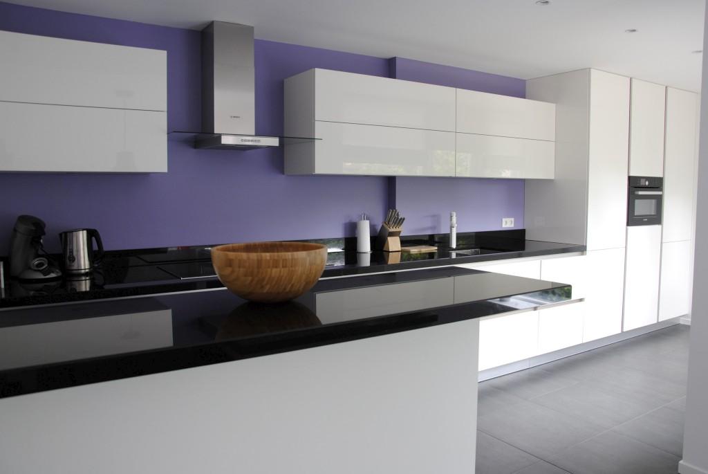 Moderne greeploze keuken in sliedrecht keukenhof sliedrecht - Moderne keuken kleur ...