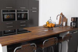 Schiereiland in de keuken
