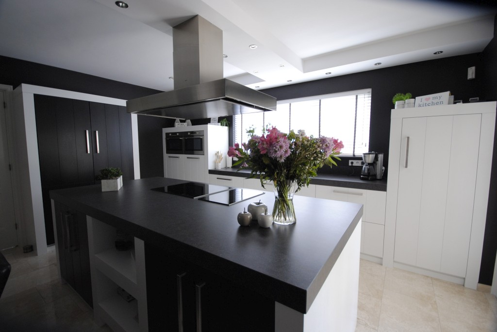 Keuken Schiereiland Landelijk : Landelijk moderne pure dutch keuken in hardinxveld giessendam