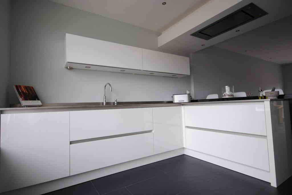 Moderne Keuken Werkblad : Moderne keuken met i-cooking in Hardinxveld ...