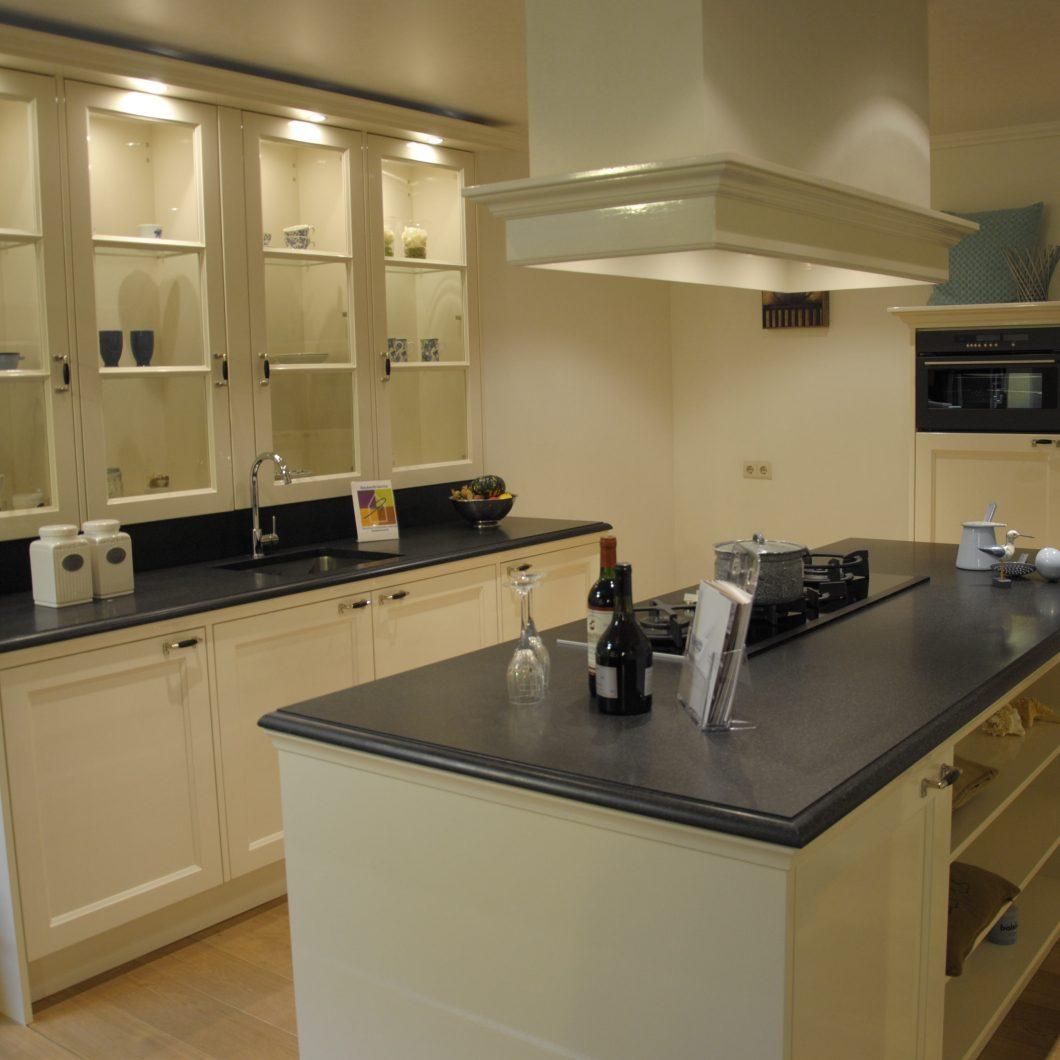 Handgemaakte showroom keuken - Keukenhof Sliedrecht