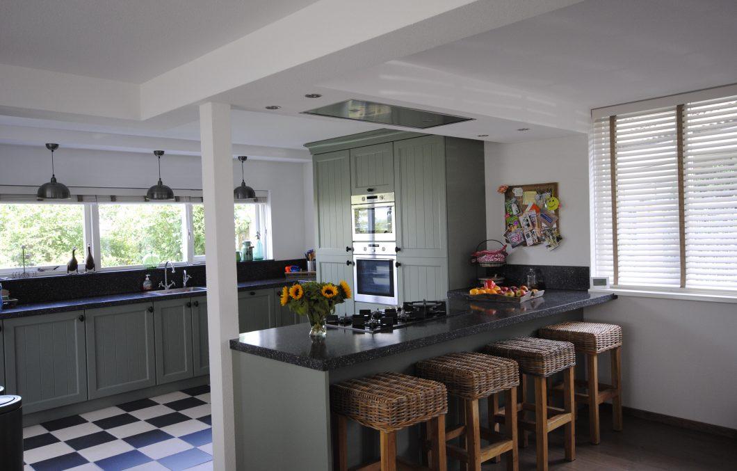 Landelijk brocante keuken - Scandinavische keuken ...
