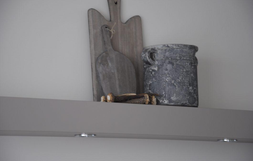Keukenstollen met verlichting