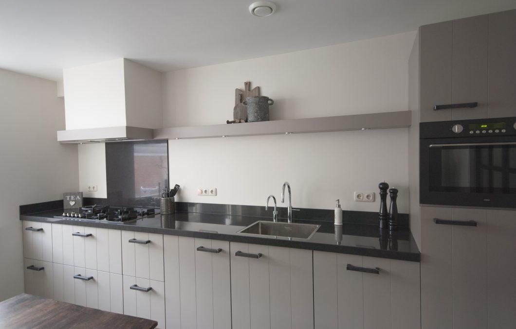 Landelijk moderne keuken stone grijs