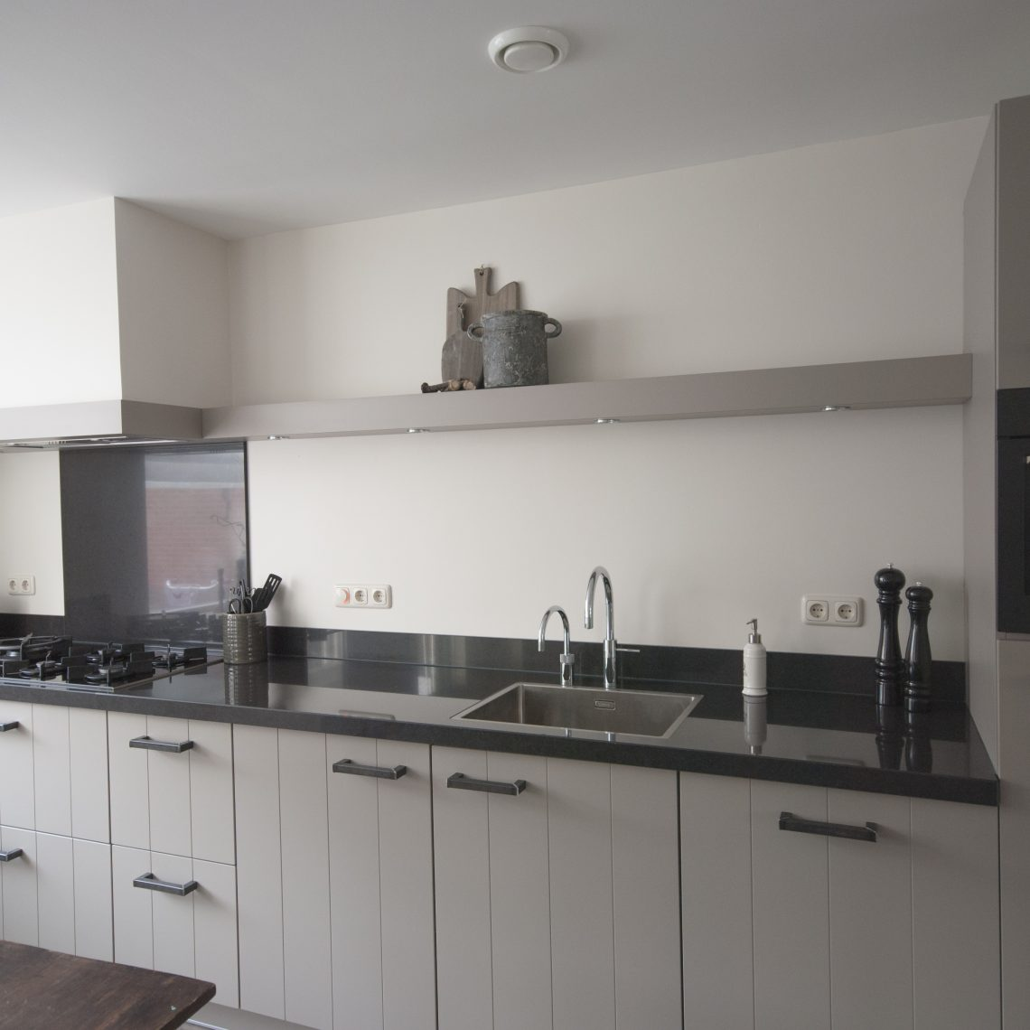 Witte keuken landelijk het beste van huis ontwerp inspiratie - Ontwerp witte keukens ...