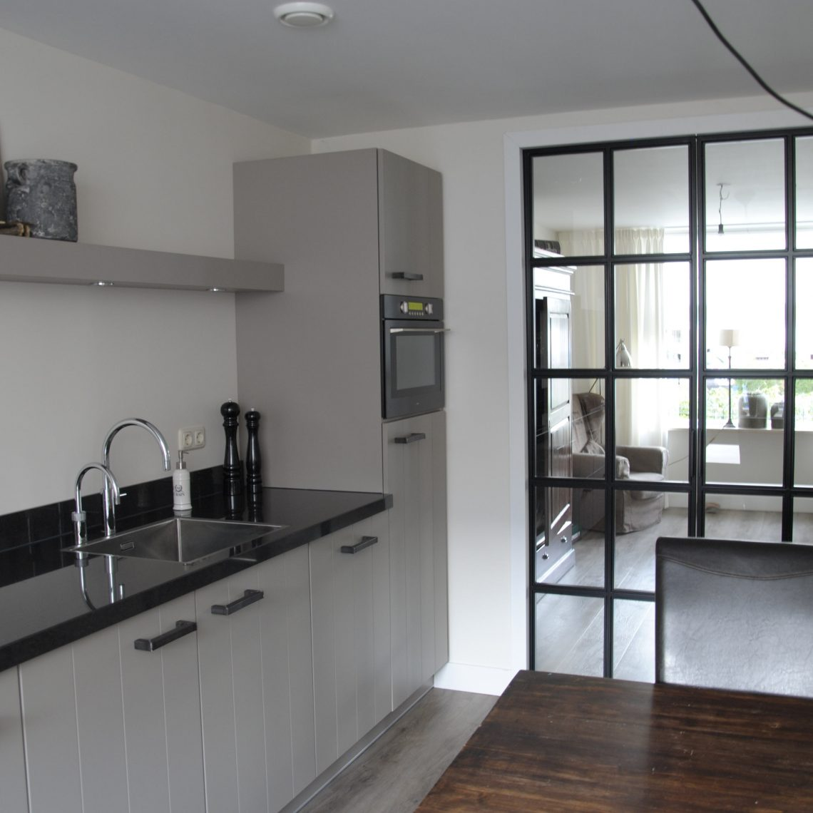 Landelijk moderne keuken elspeet keukenhof sliedrecht for Slaapkamer landelijk modern