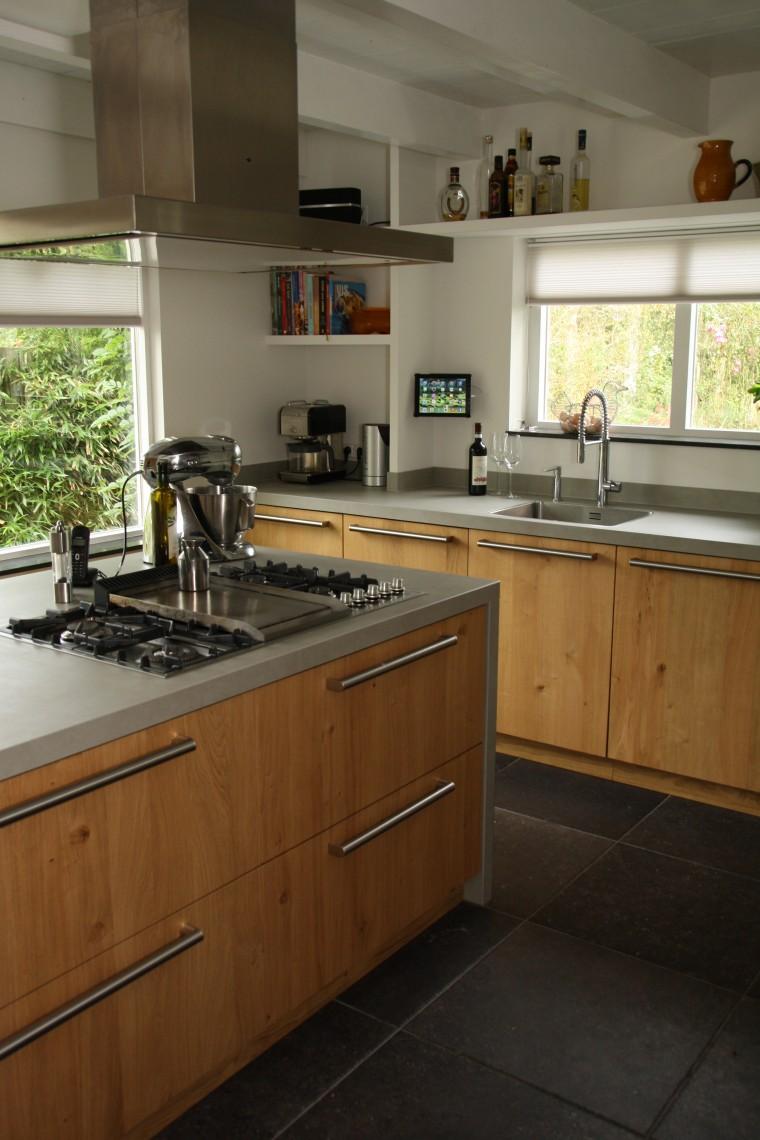Massief eiken keuken in Noord Holland Keukenhof Sliedrecht