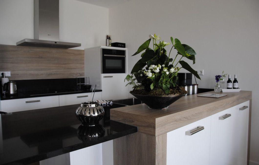 Moderne keuken appartement SLeeuwijk