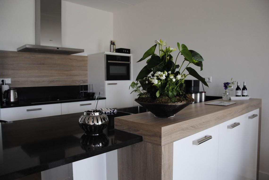 Moderne keuken in appartement Sleeuwijk - Keukenhof Sliedrecht