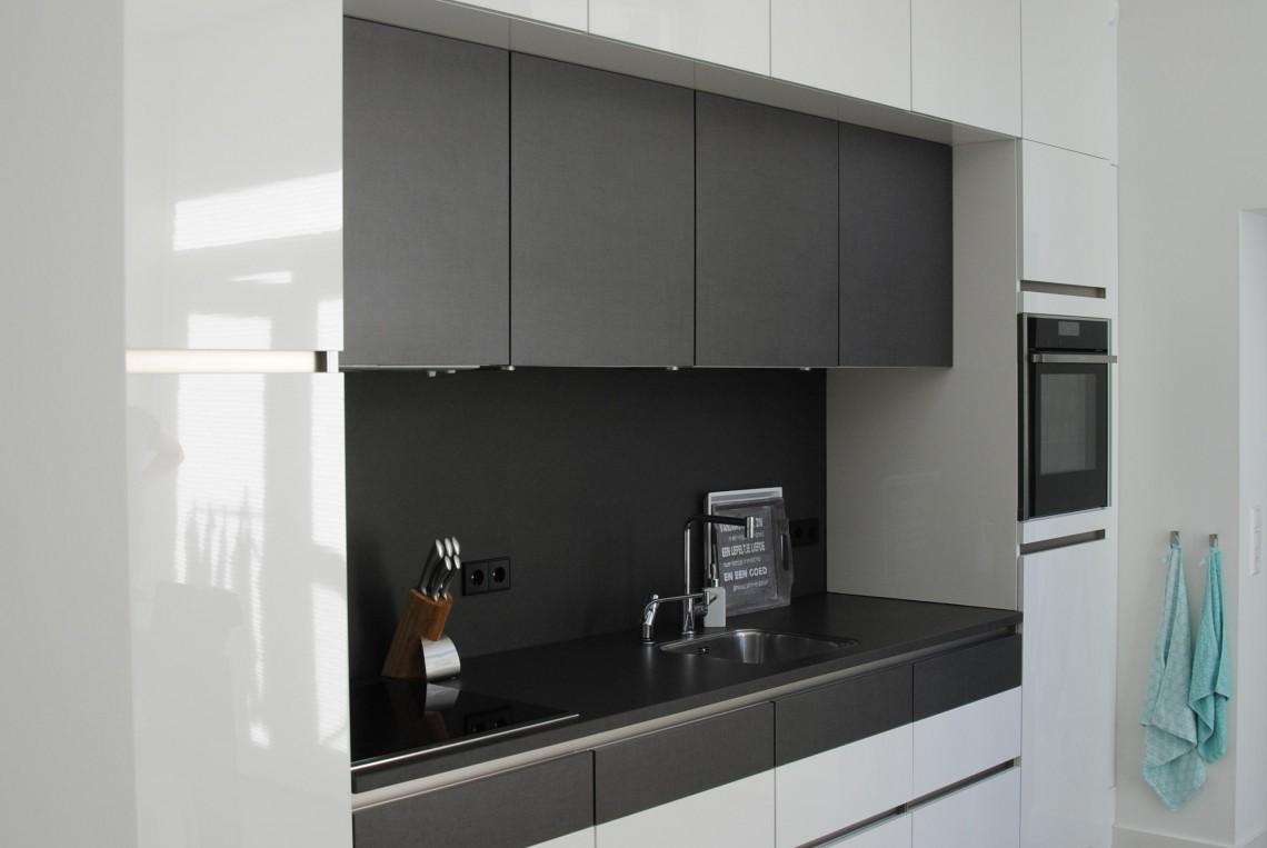 Moderne keuken met markant ontwerp in hardinxveld giessendam keukenhof sliedrecht - Moderne keuken muurdecoratie ...
