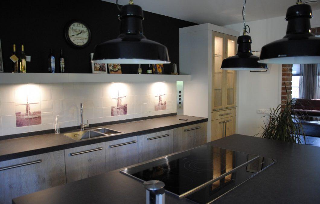 Pure Dutch houten keuken