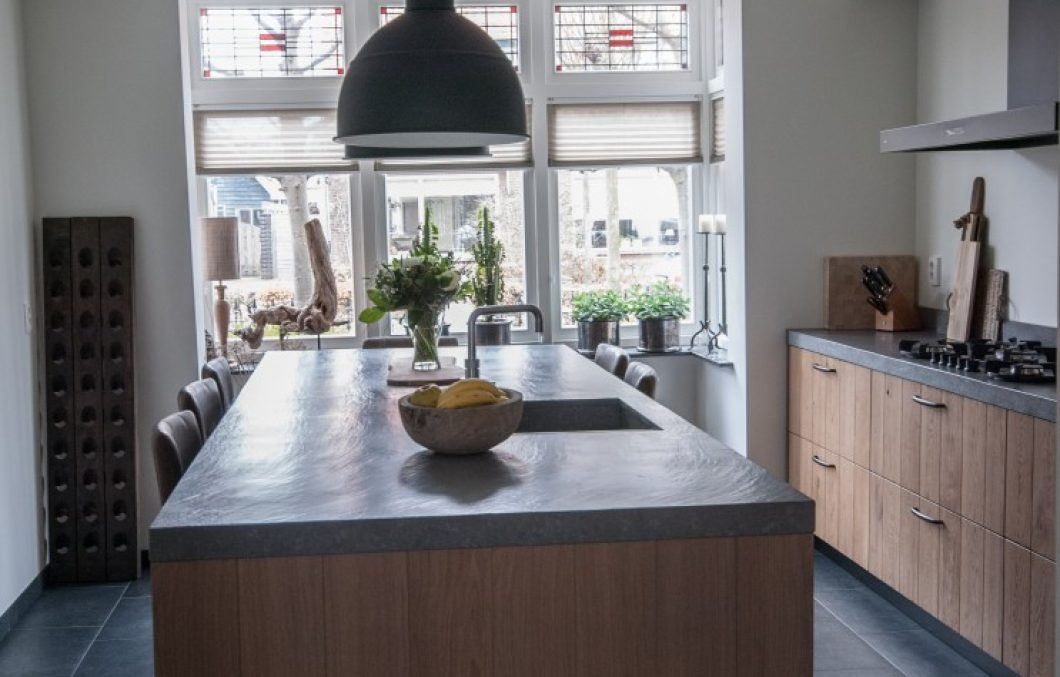 Houten keuken in Hardinxveld-Giessendam
