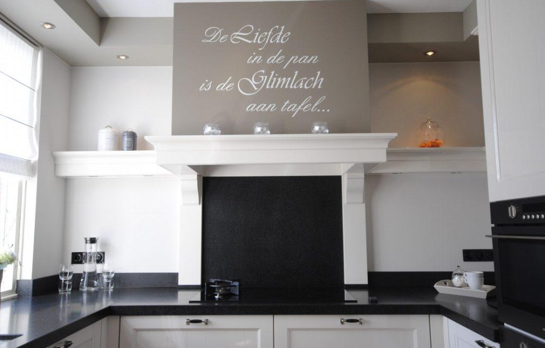 Handgeschilderde keuken