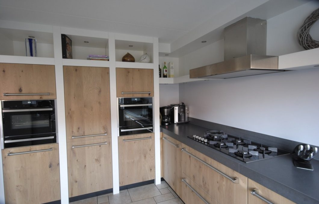 Handgemaakte houten keukens