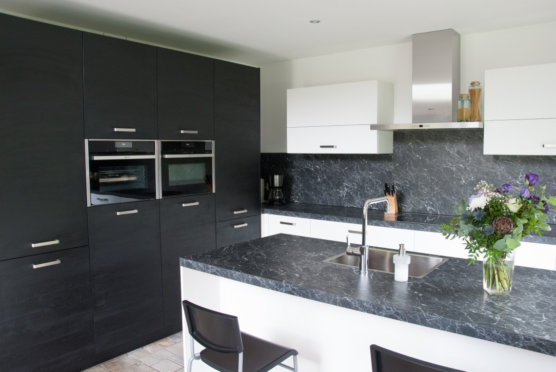 Moderne U Keukens : Moderne keuken in streefkerk keukenhof sliedrecht
