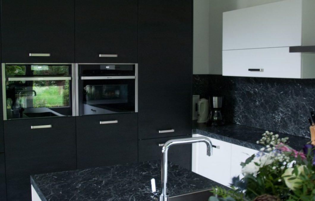 Moderne keuken met design