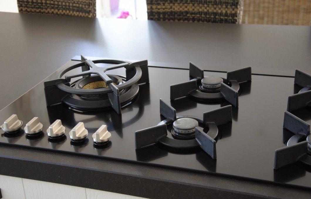 Keuken met Fusion Volcano wokbrander ATAG
