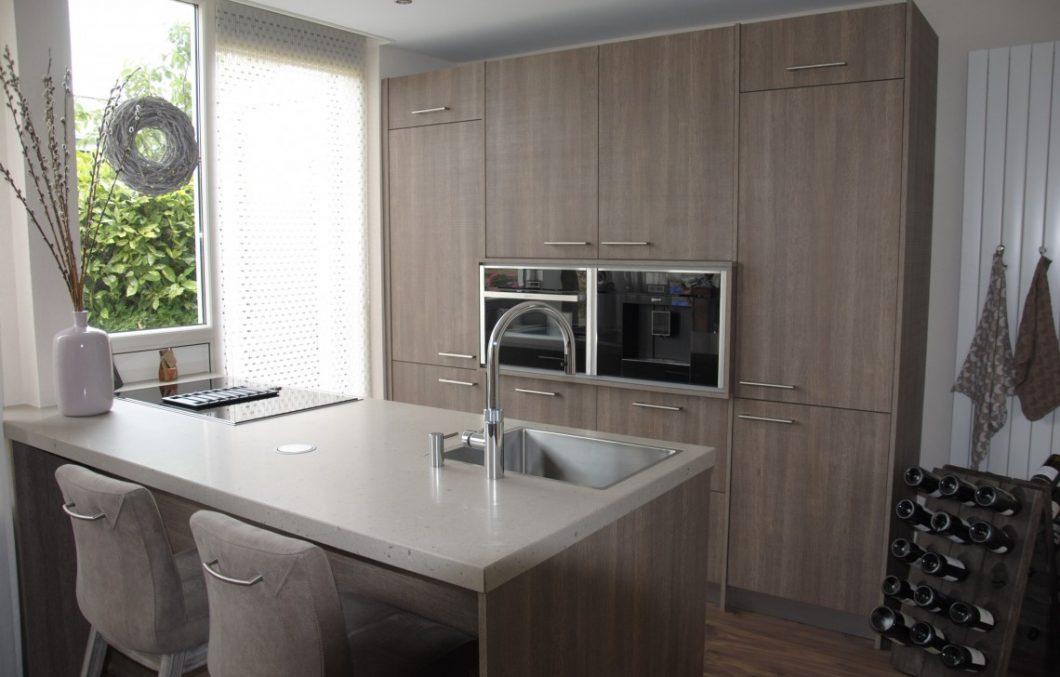 Keuken met apparatenwand in Sliedrecht