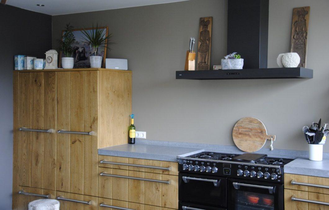Stoere houten keukens