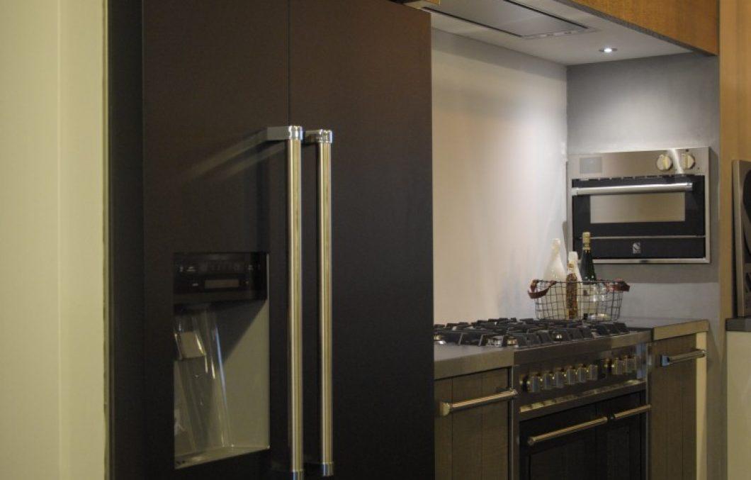 Steel Cucine koelkast bij Keukenhof Sliedrecht