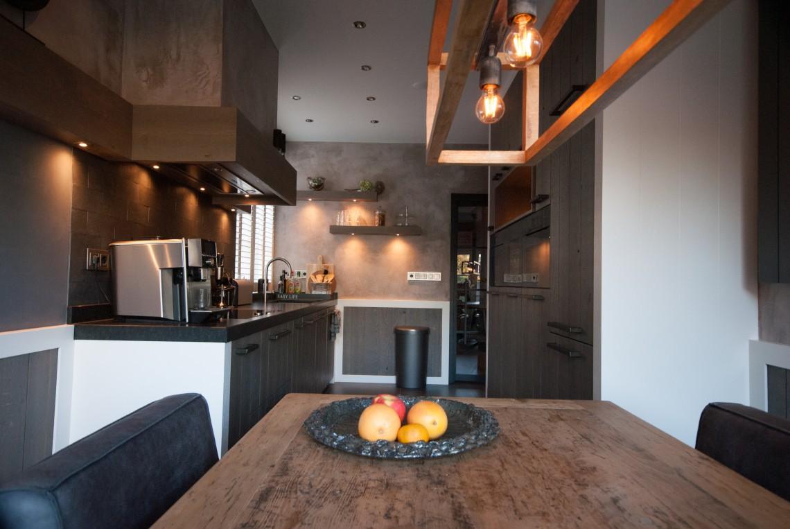 Massief houten keuken van Pure Dutch in Goes