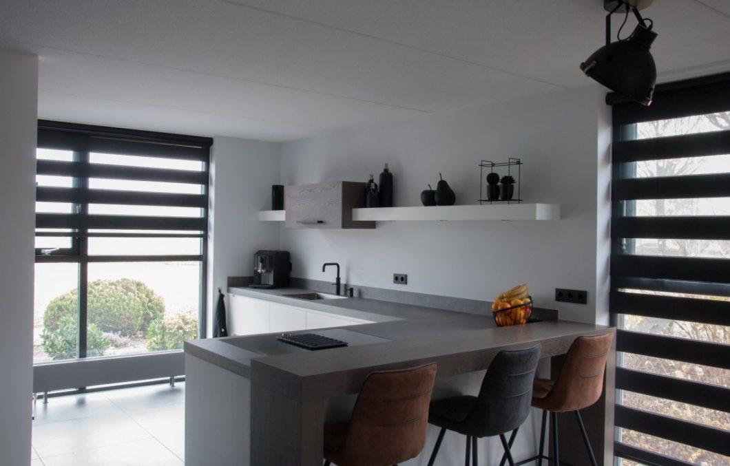 Houten keuken op maat in Papendrecht