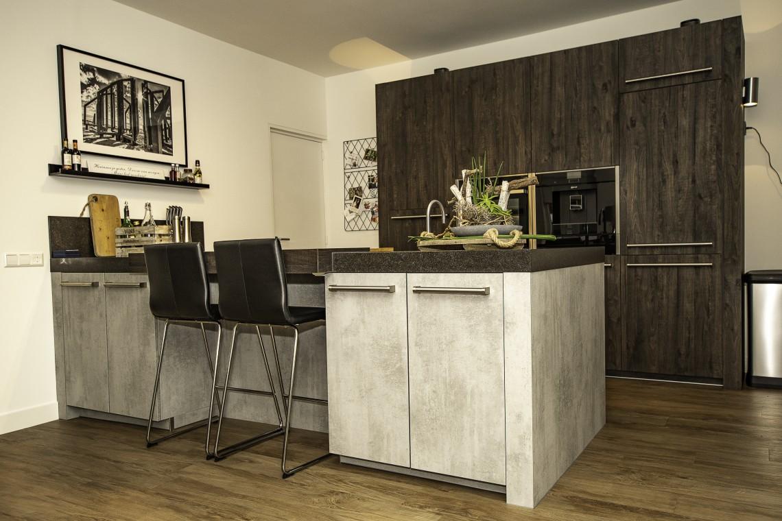 Drie Zones Keuken : Betonlook keuken stoer en robuust keukenhof sliedrecht
