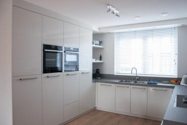 Moderne hoogglans keuken Keukenhof Sliedrecht