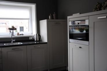 Tijdloze keuken met composiet werkblad in Werkendam